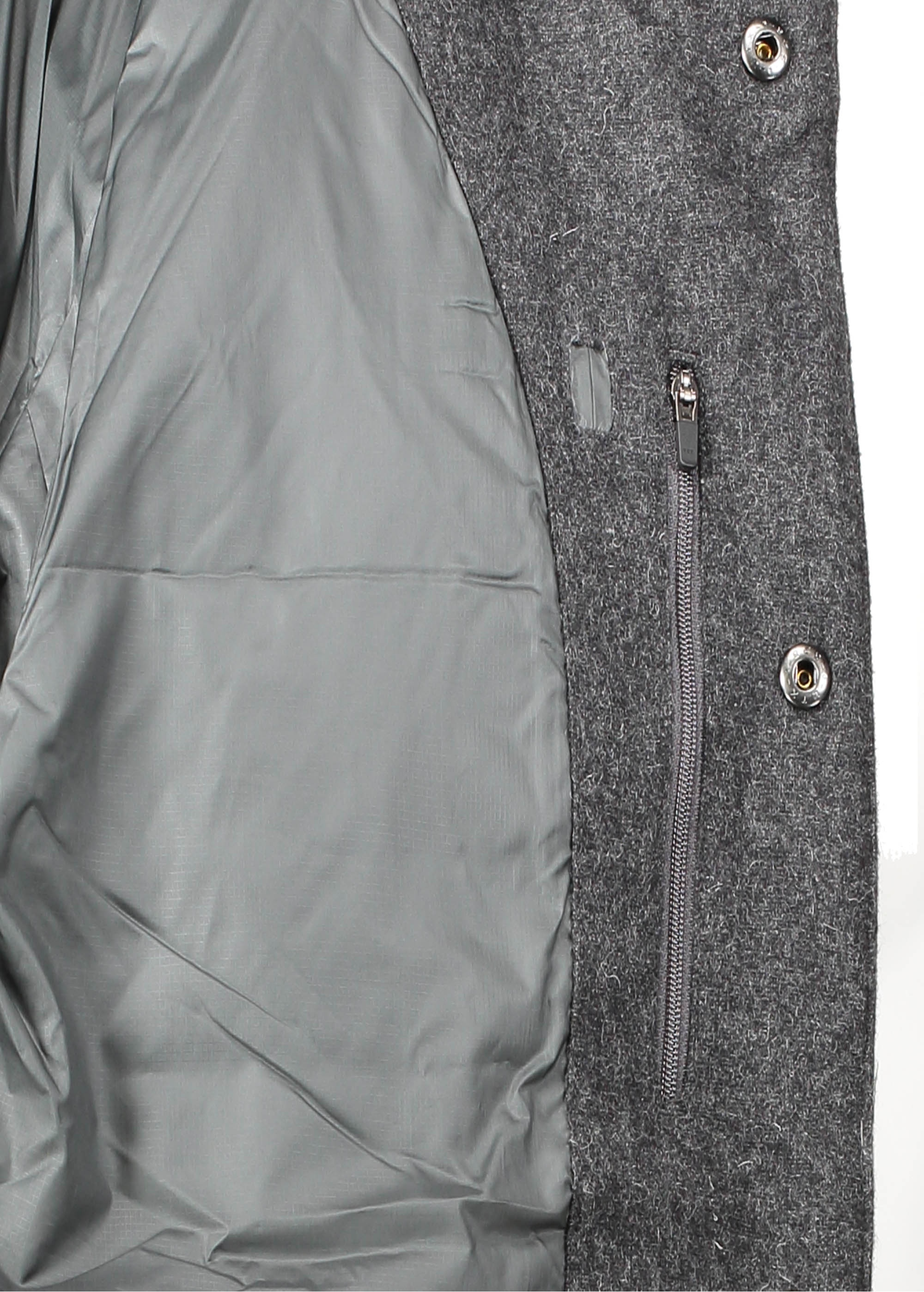08e9a530f Patagonia Recycled Wool Bomber - Forge Grey