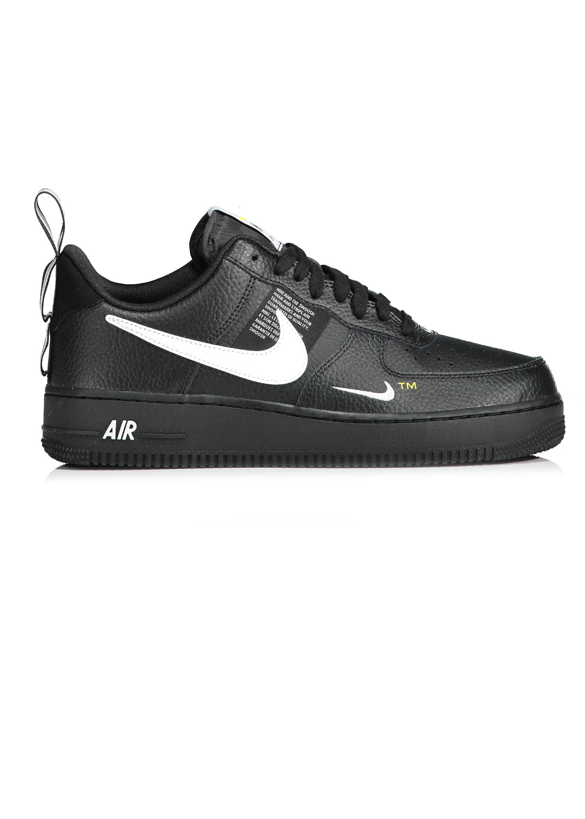 on feet shots of meet online here Nike Footwear Air Force 1 07 LV8 Utility - Black / White