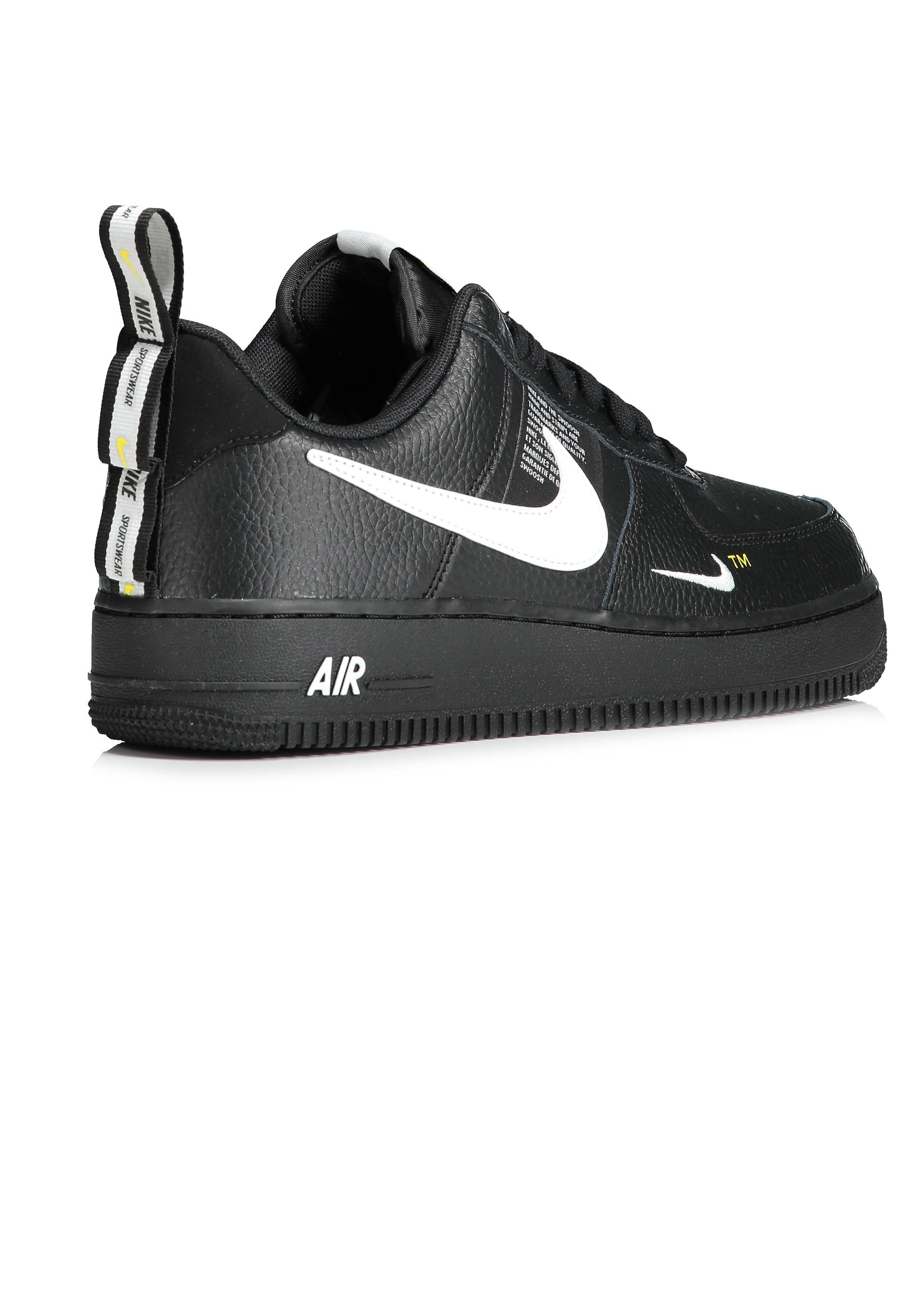 91414165c606 Nike Footwear Air Force 1 07 LV8 Utility - Black   White - Triads ...