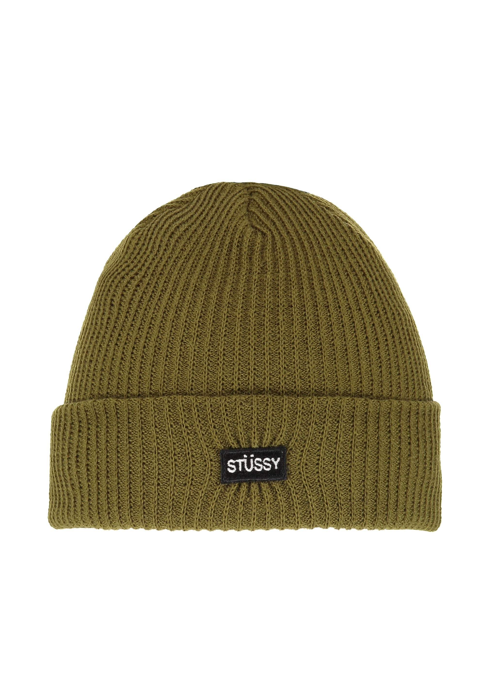 45cc3153eb3 Stussy Small Patch Watchcap Beanie - Green - Triads Mens from Triads UK