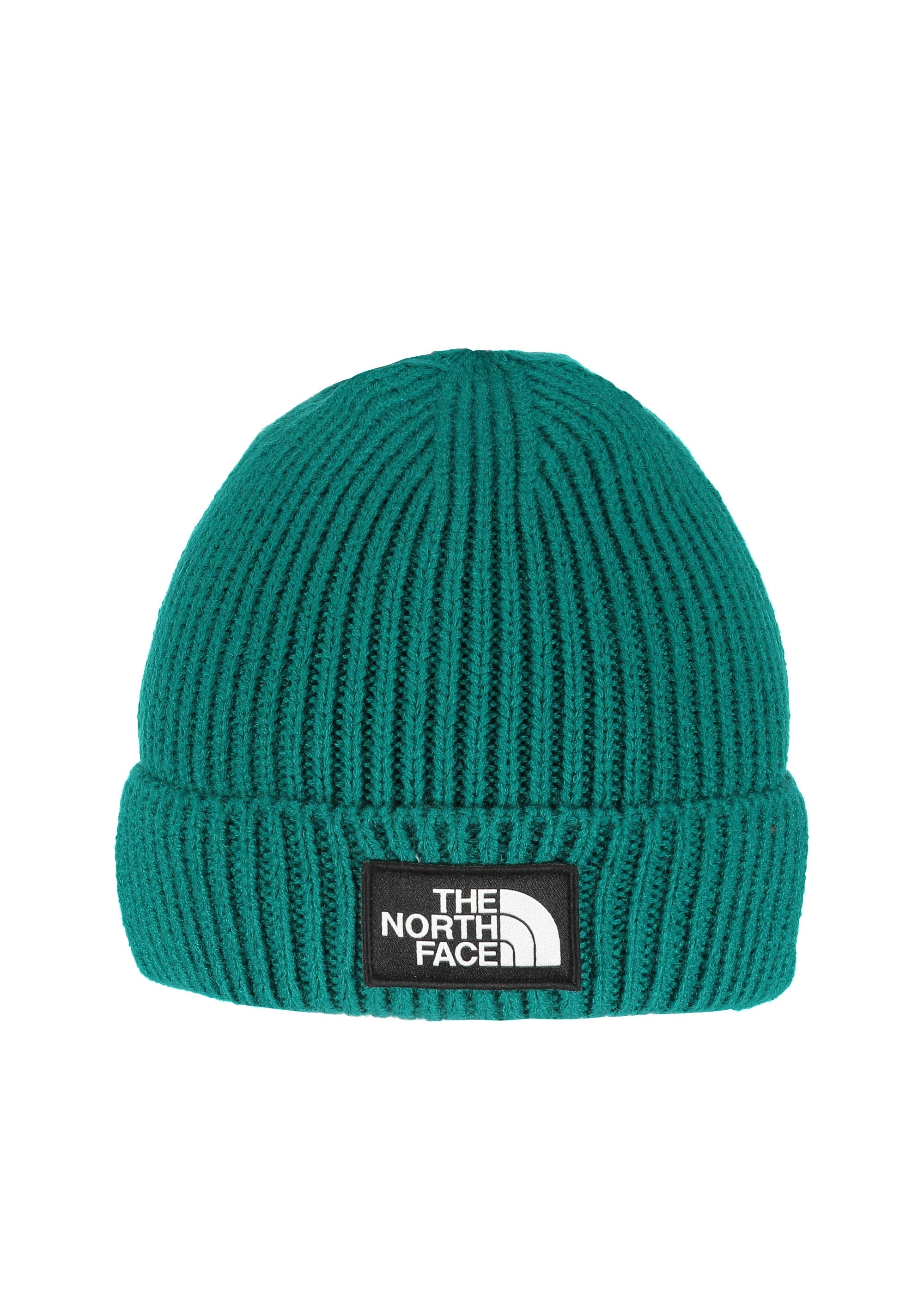 8eacdd8a The North Face Logo Box Cuff - Everglade - Headwear from Triads UK