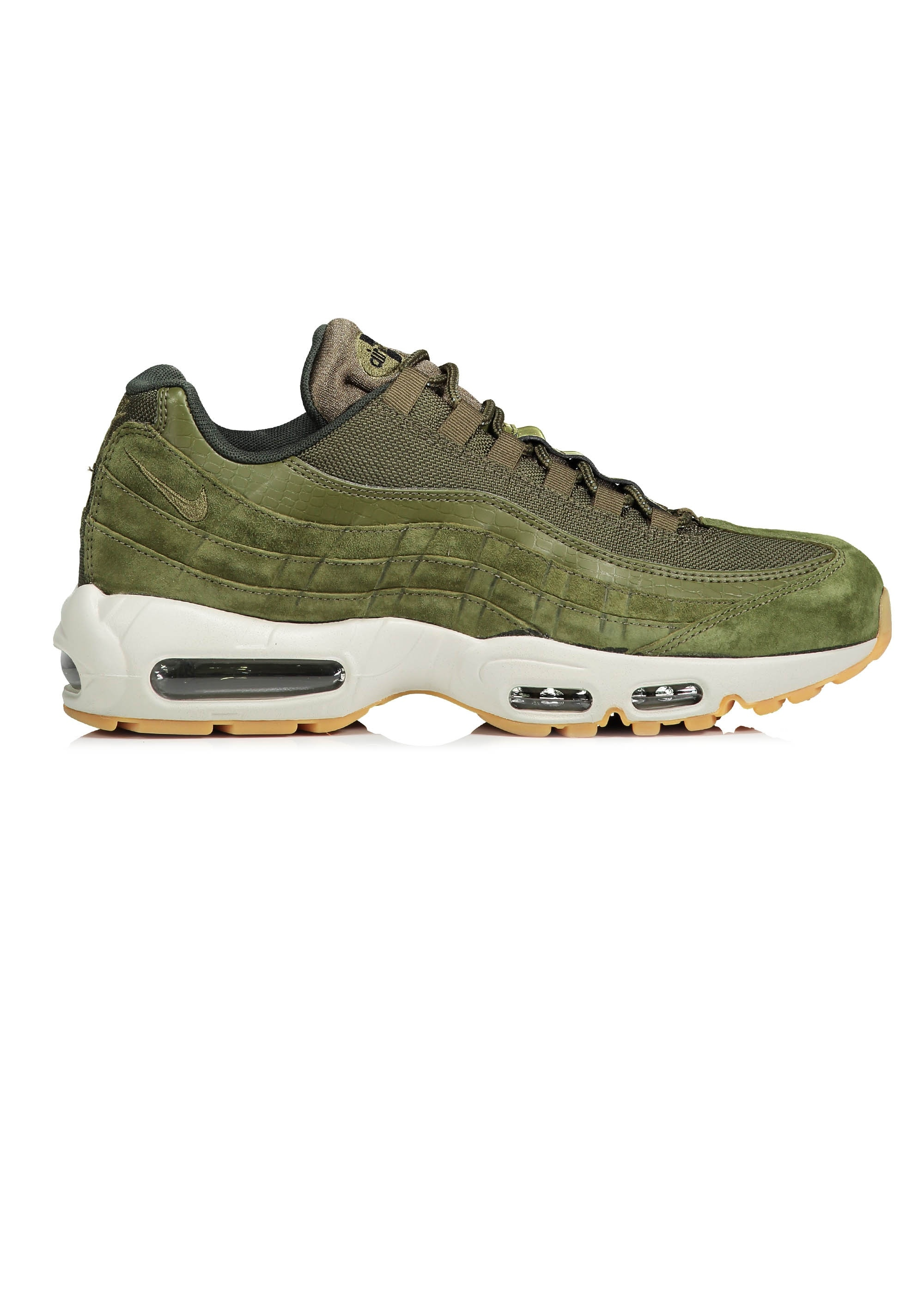 ffcee620f5 Nike Footwear Air Max 95 SE - Olive Canvas - Trainers from Triads UK