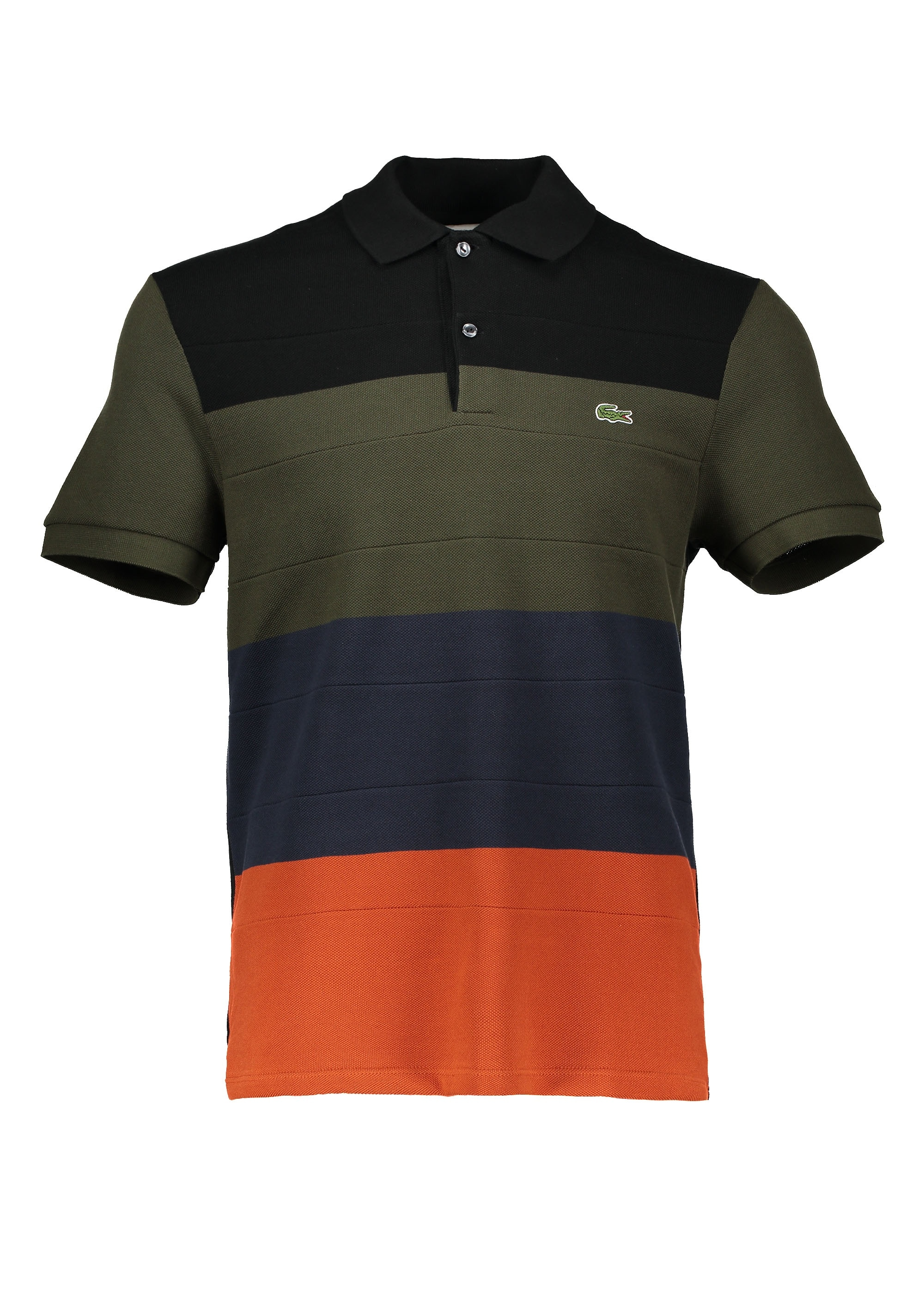 246ee3b4ff Lacoste Stripe Polo Shirt - Multi - Polo Shirts from Triads UK
