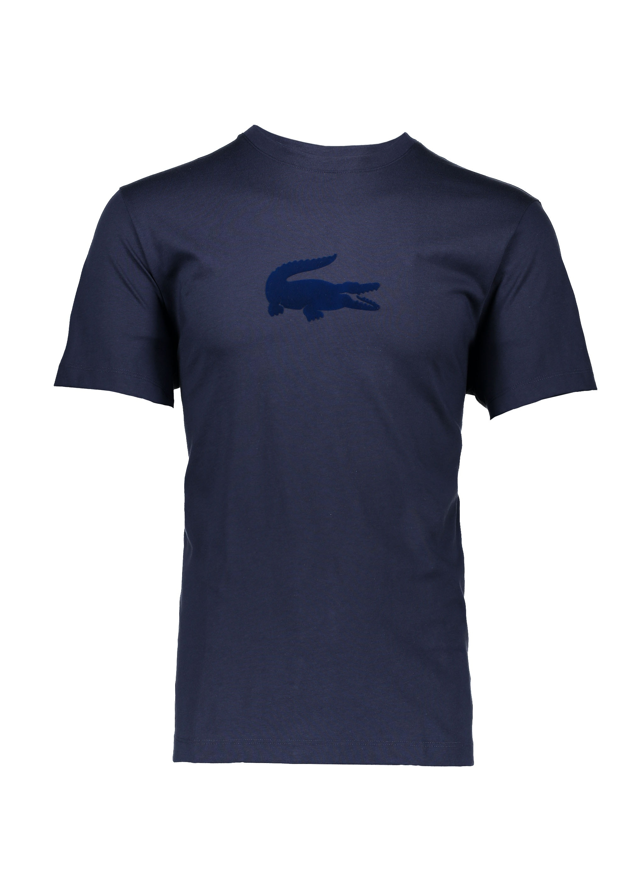5179fab5 Lacoste Logo T-Shirt - Navy Blue - Triads Mens from Triads UK