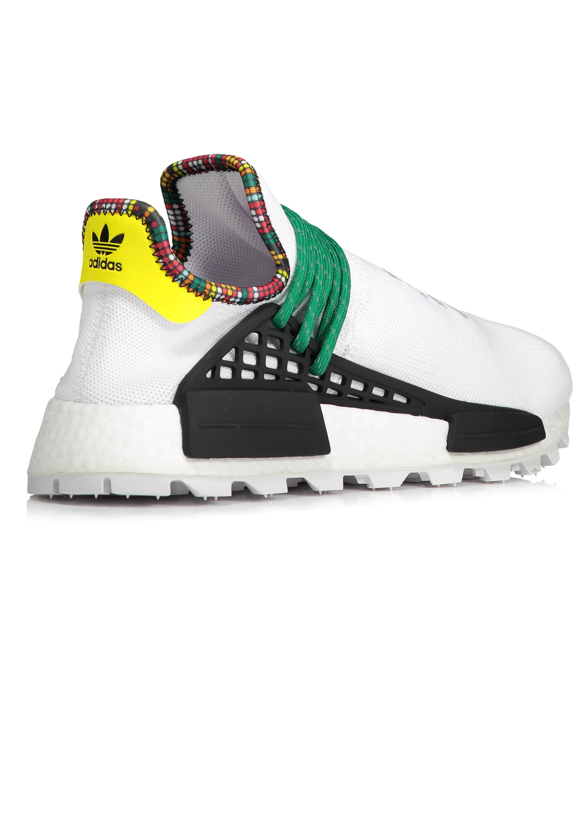 the latest 5be54 4bf13 adidas Originals Footwear PW Solar Hu NMD - White / Green