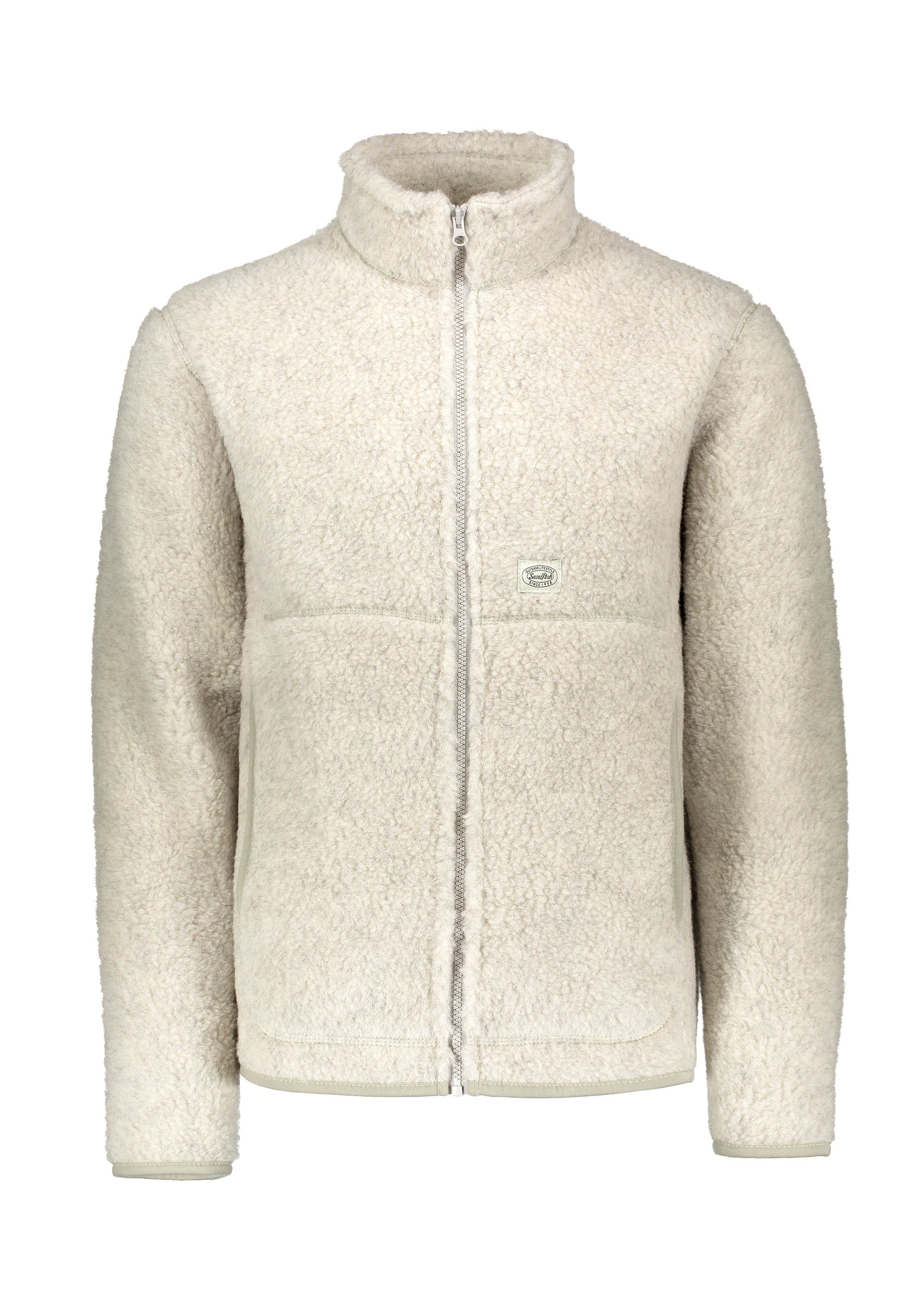 dfda99387 Snow Peak Wool Fleece Jacket - White