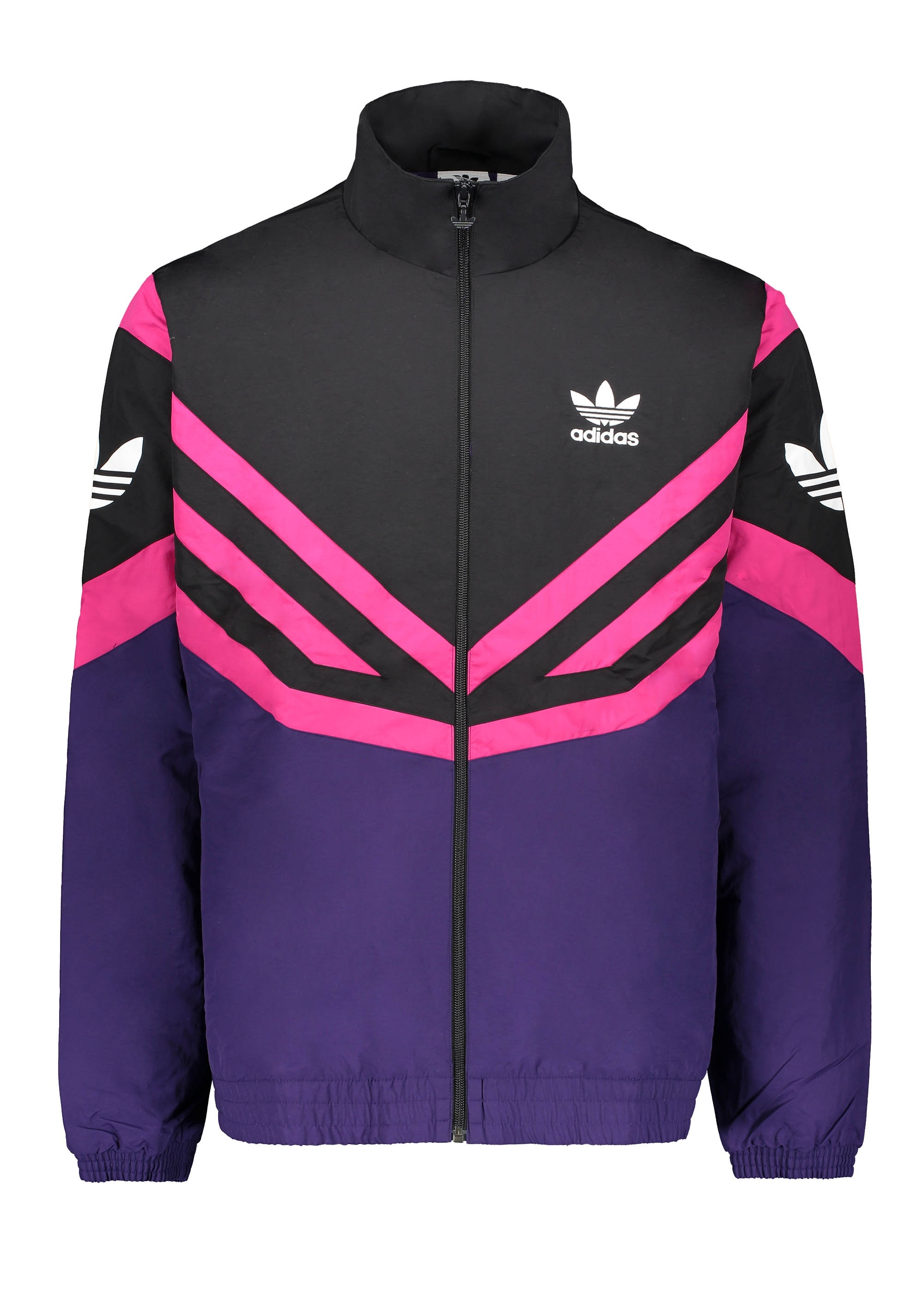 ea95d887e3c9 adidas Originals Apparel Sportivo Track Top Black   Purple - Track ...