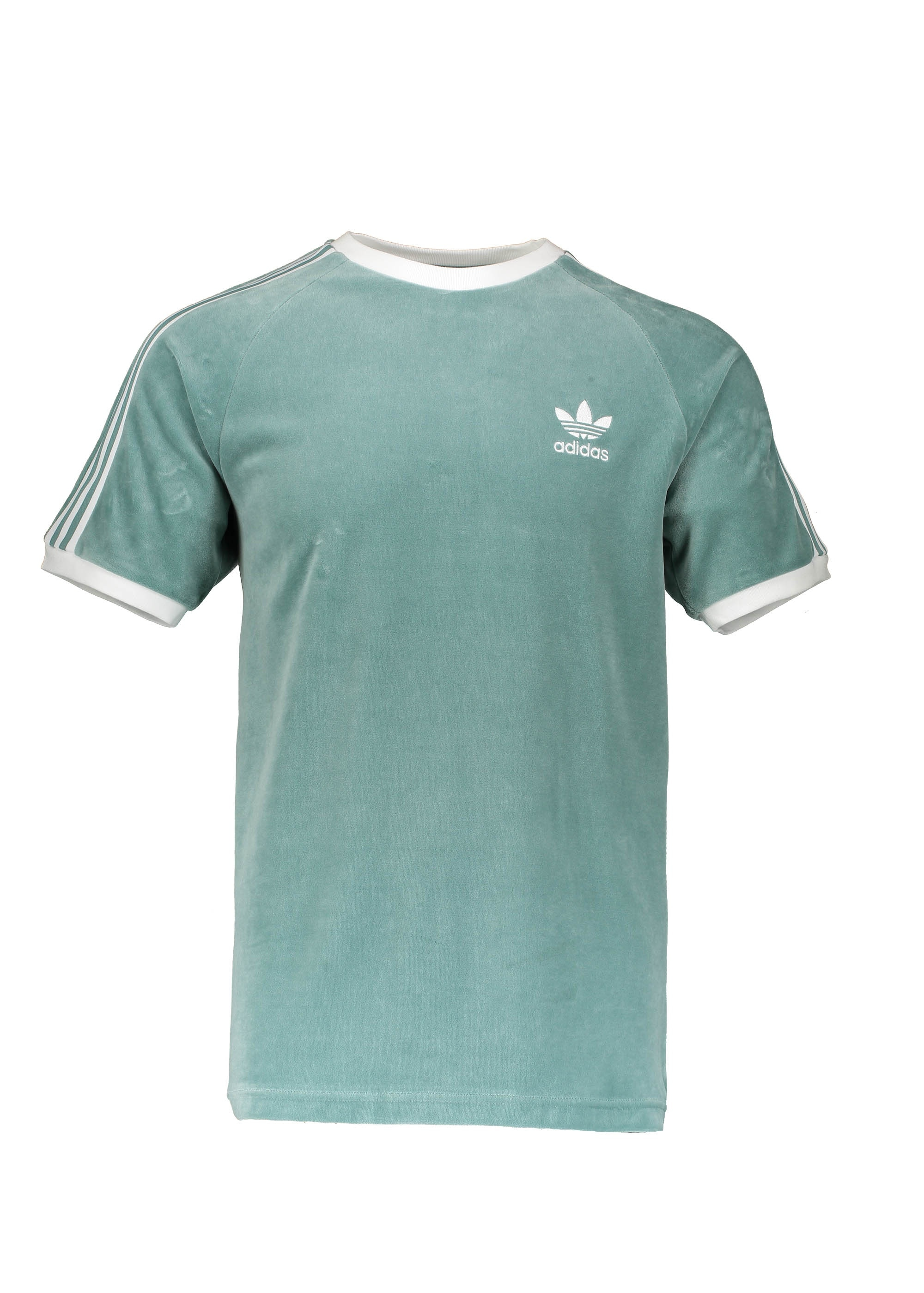 niin halpa erityinen osa los angeles adidas Originals Apparel Cozy Tee - Green / White