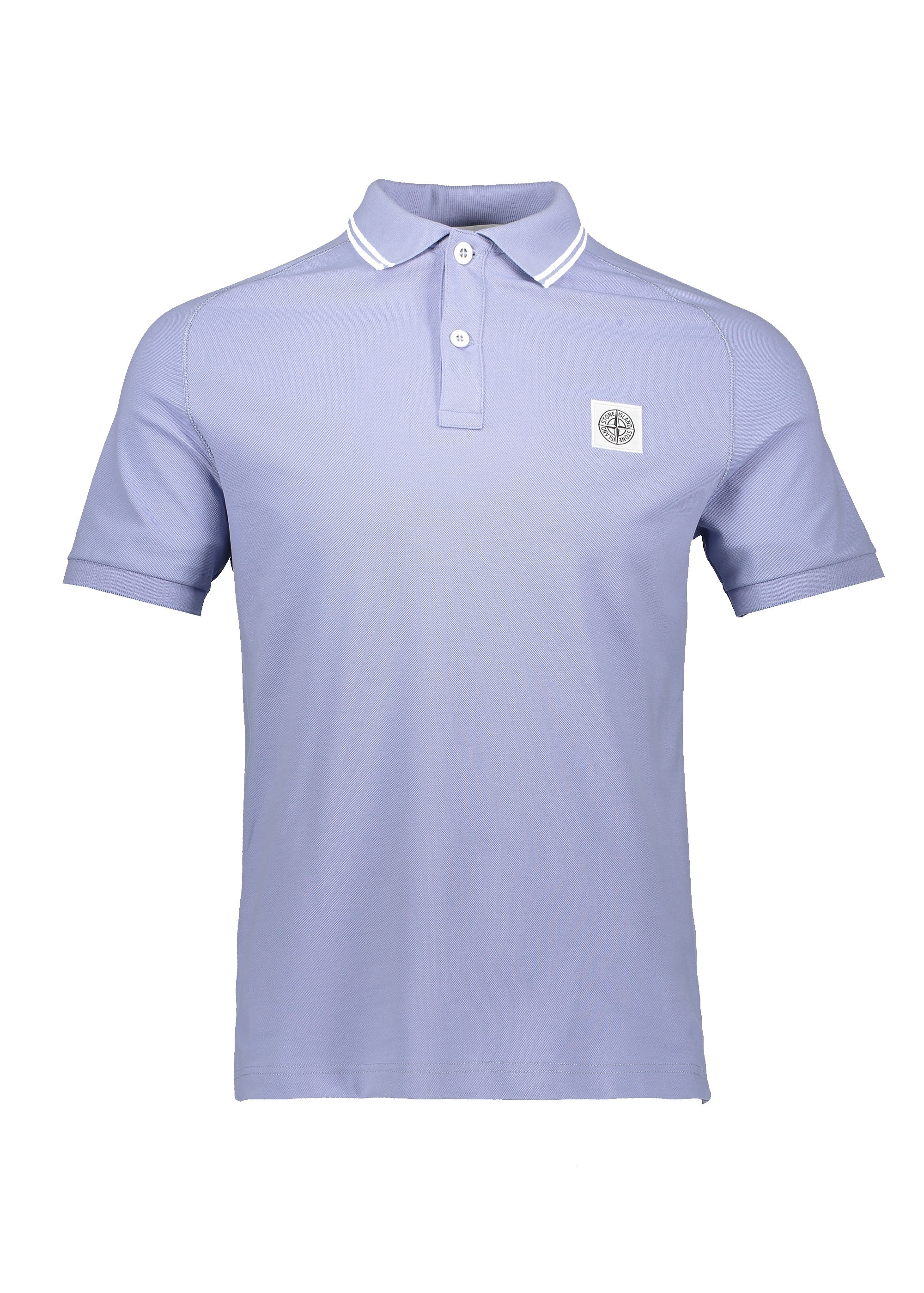 5a862a39 Stone Island SS Patch Logo Polo - Lavender - Triads Mens