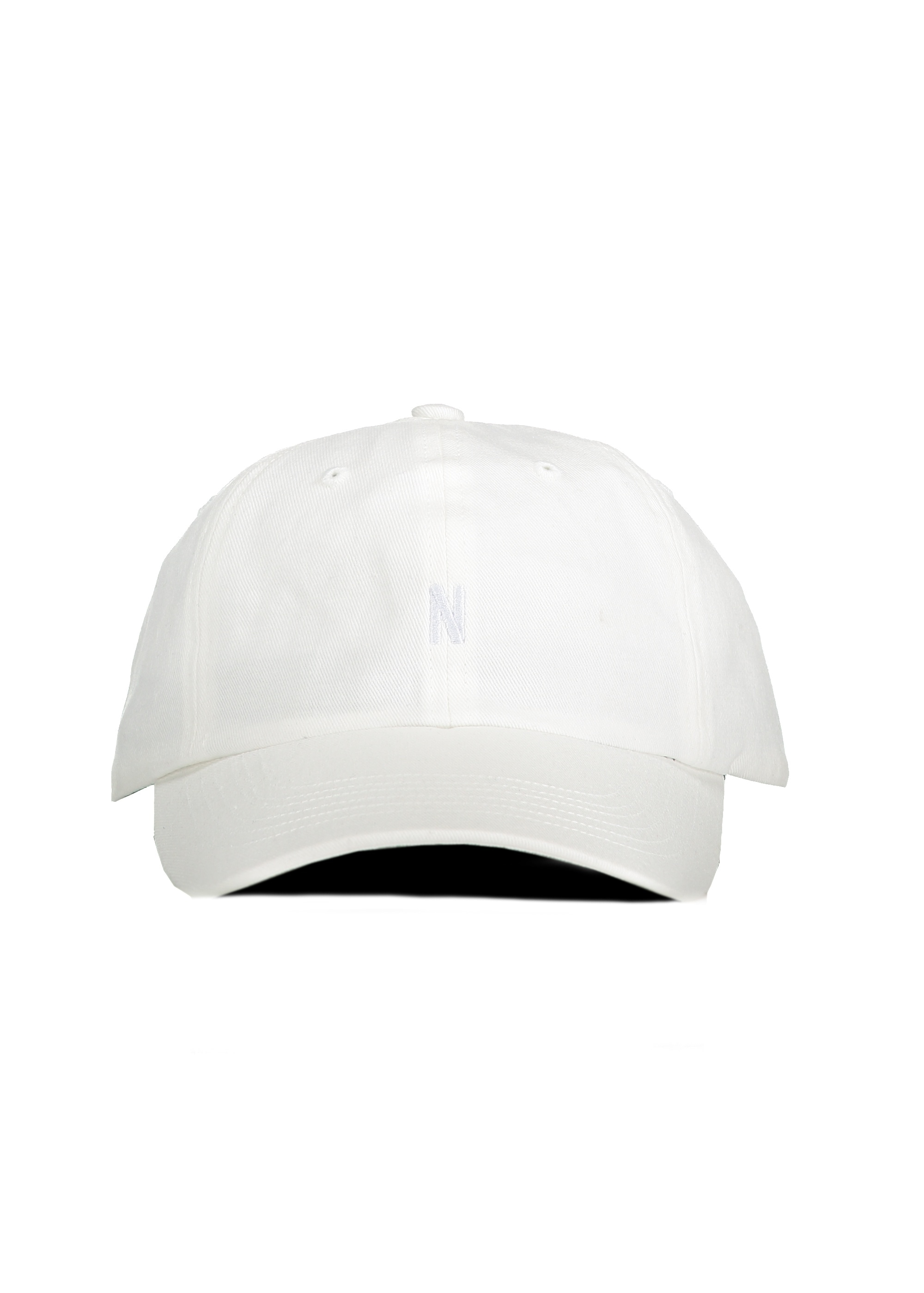 Norse Projects Twill Sports Cap - White - Headwear from Triads UK 300995e725f