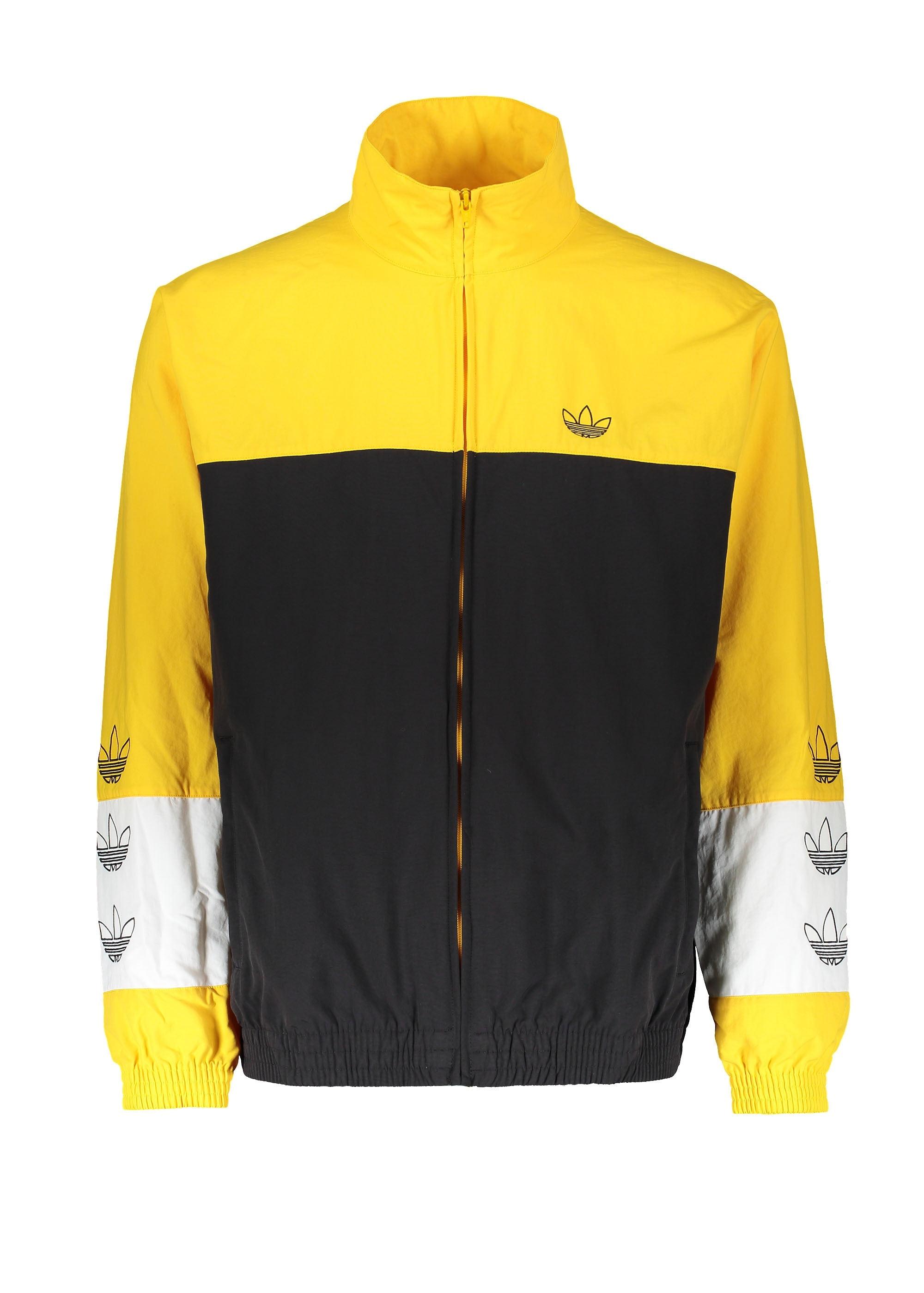 lowest price d1f3a 89873 Tourney Warm Up Jacket - Black  Yellow