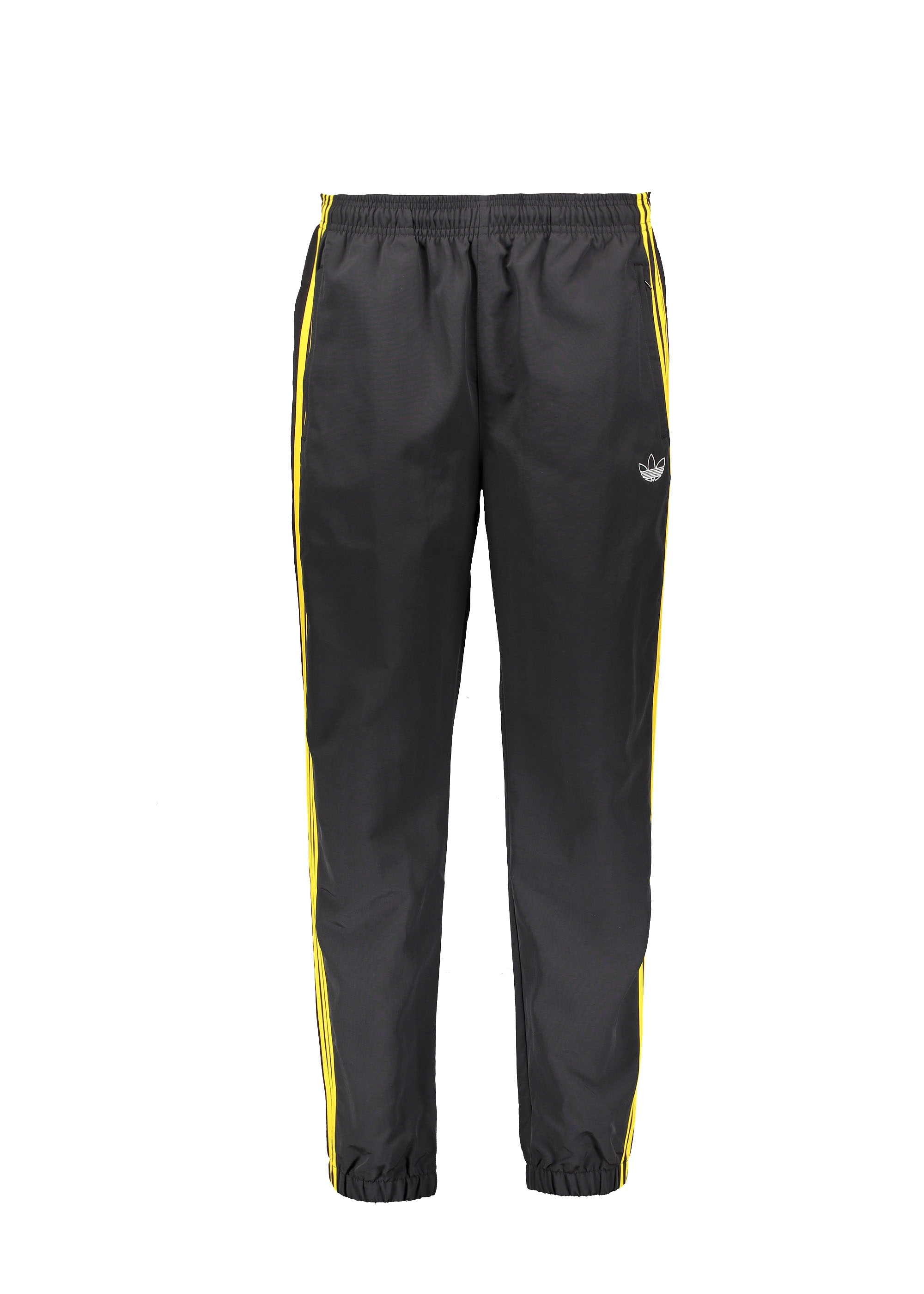 1c940d33 adidas Originals Apparel Tourney Warm Up Pants - Black / Yellow ...