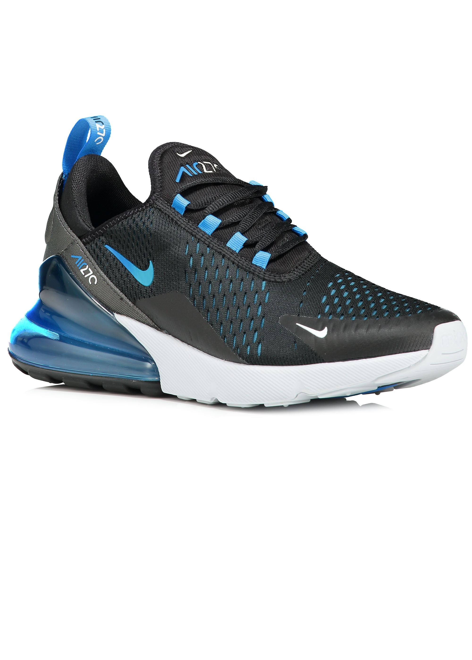 new arrival 1850a cec31 Nike Footwear Air Max 270 - Black / Blue