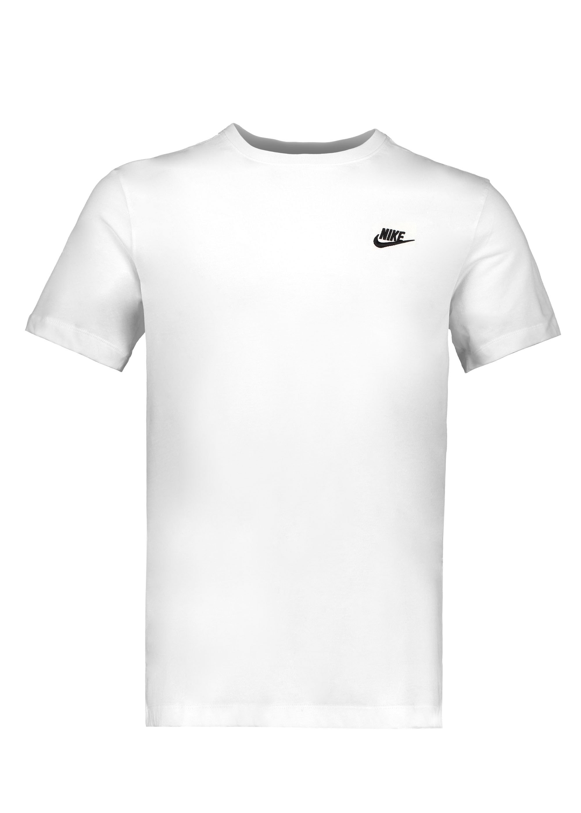 preposición Rugido Menagerry  Nike Apparel NSW Club Tee - White - T-shirts from Triads UK