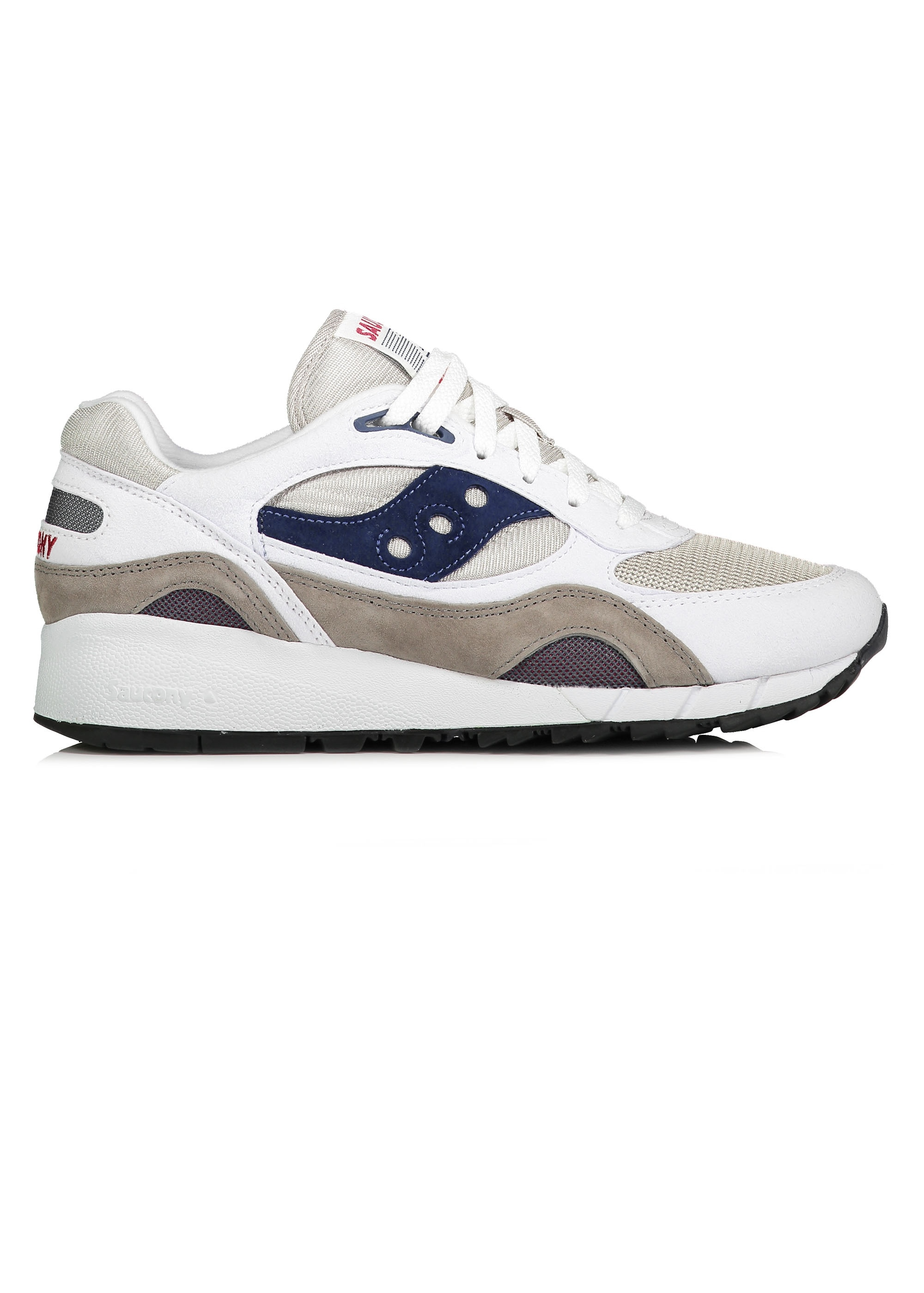 best service 00d55 0a9ad Saucony Shadow 6000 - White / Grey / Navy