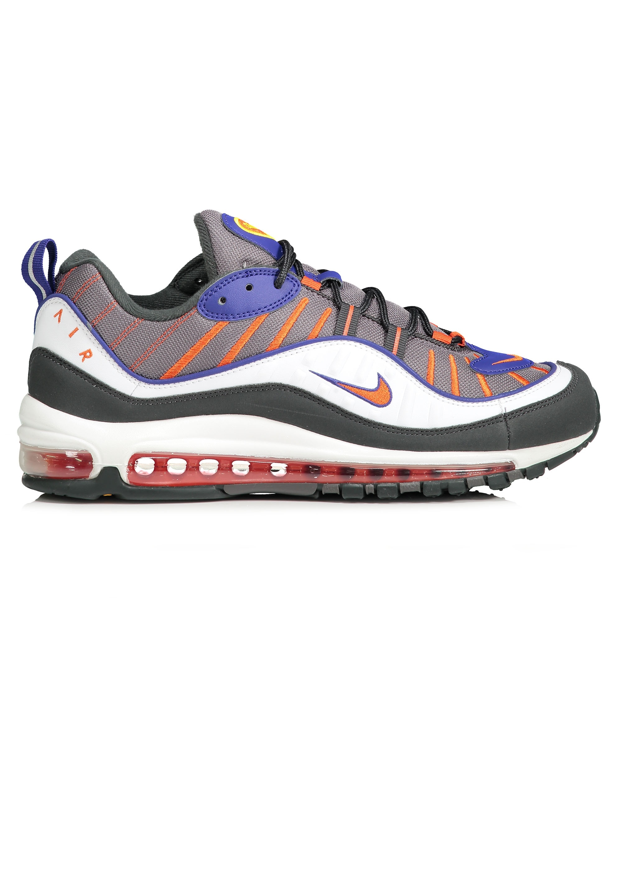 sports shoes 6d5ab ede19 Air Max 98 - Gunsmoke / Team Orange