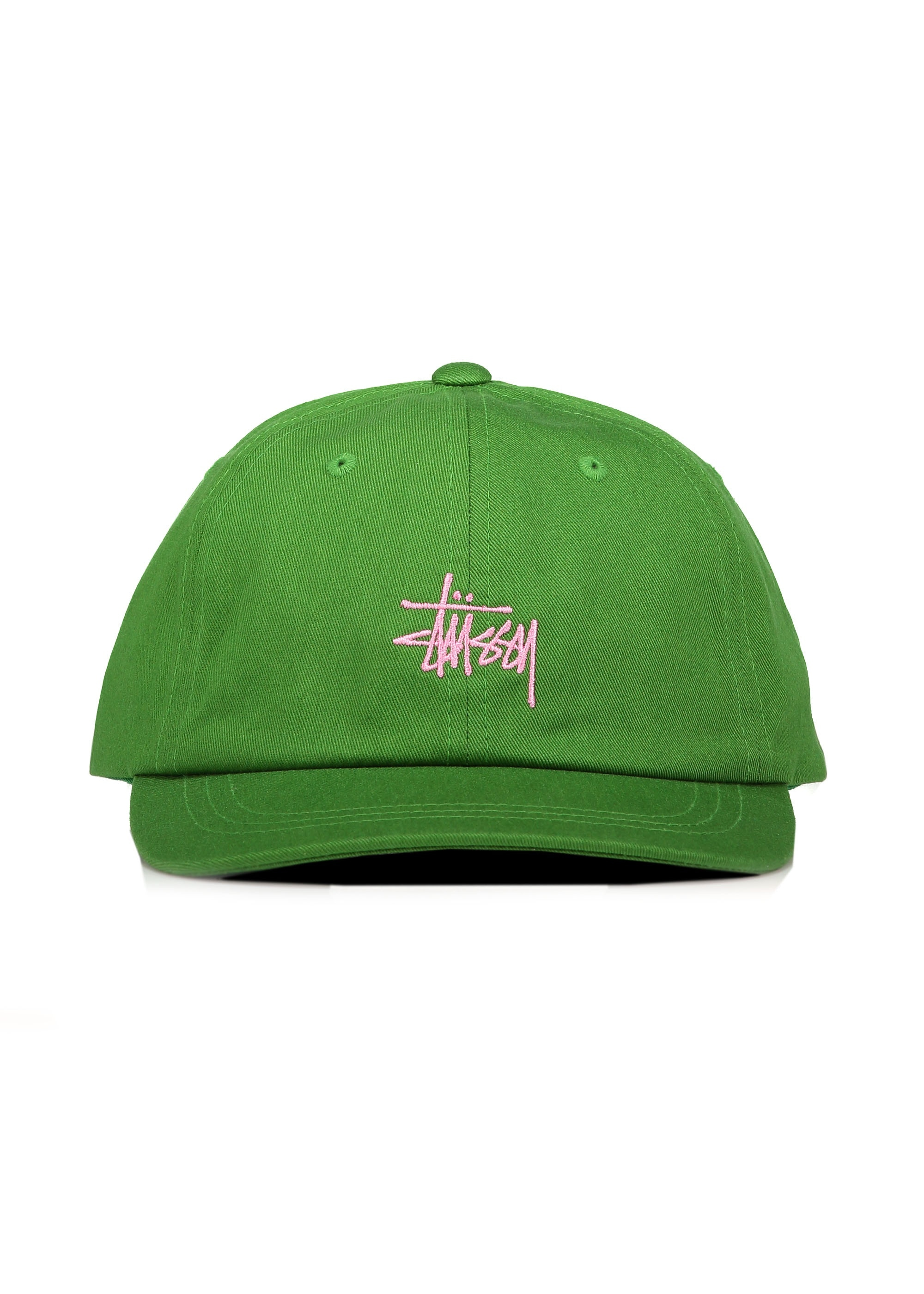 2599bf35641b7 Stussy SP19 Stock Low Pro Cap - Green - Headwear from Triads UK