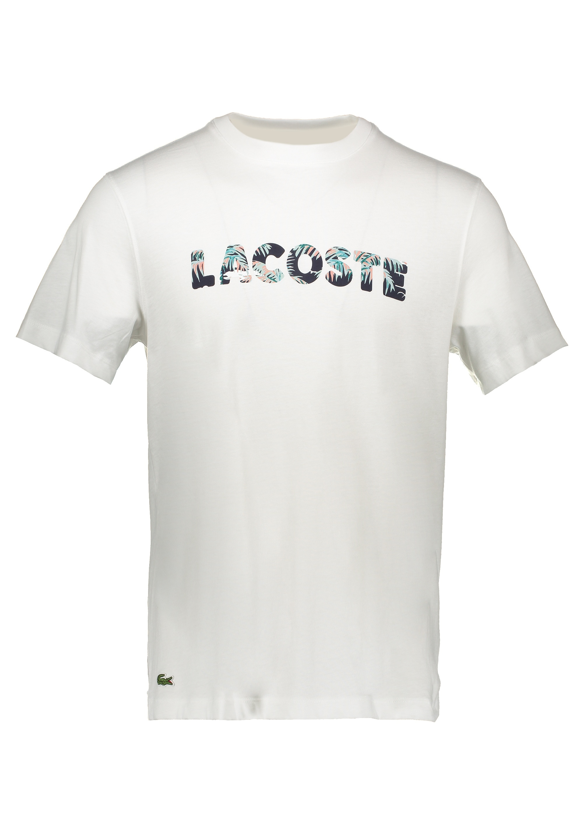 6b146d4771 Lacoste Print Logo Tee - White - T-shirts from Triads UK