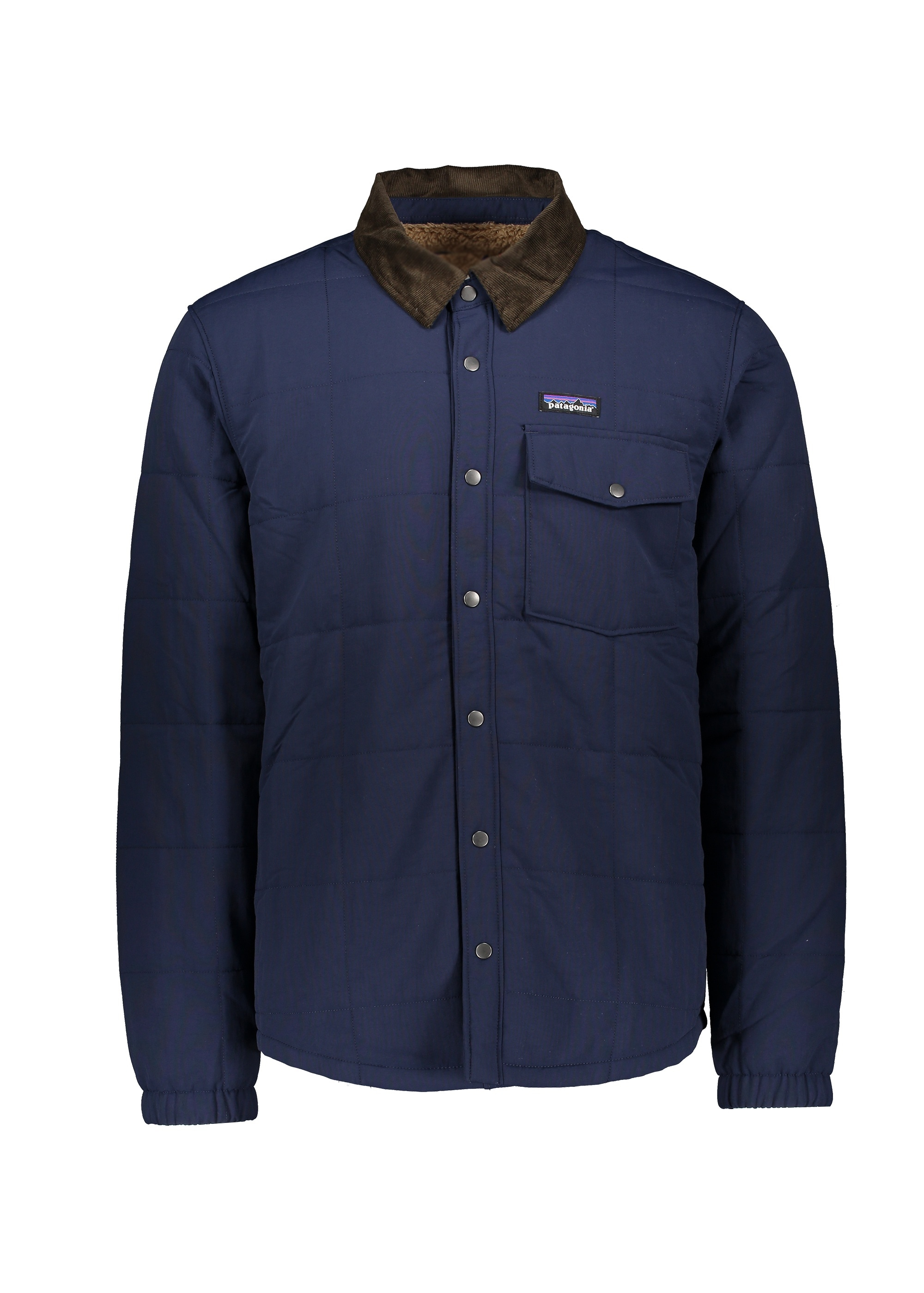 Patagonia Isthmus Quilted Shirt Jacket New Navy